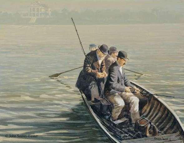 The wildlife art of john suzie seerey lester john 39 s for John s pass fishing